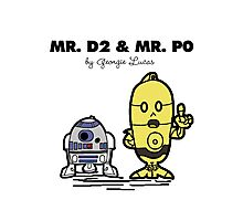 Mr D2 & Mr P0  Photographic Print