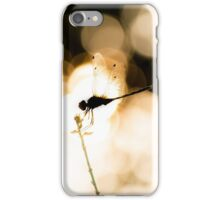 Dragonfly sunset  iPhone Case/Skin