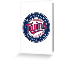 minnesota twins Greeting Card