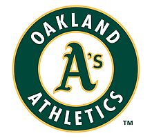 oakland athletic Photographic Print
