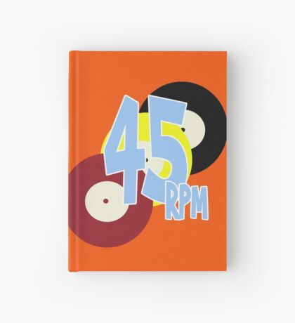 45 RPM Hardcover Journal