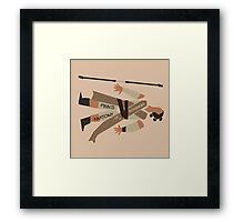 Anatomy of a Scavenger Framed Print