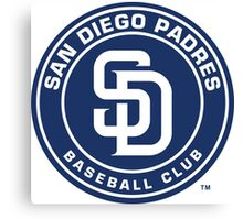 san diego padres Canvas Print