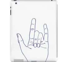 PUNK ROCK iPad Case/Skin