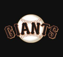 san francisco giants Kids Tee
