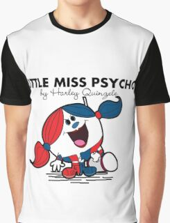 Little Miss  Psycho Graphic T-Shirt