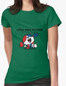 Little Miss  Psycho Womens Fitted T-Shirt