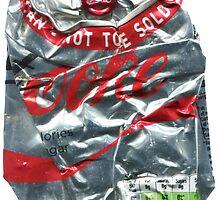 Diet Coke - Crushed Tin by Jovan Djordjevic