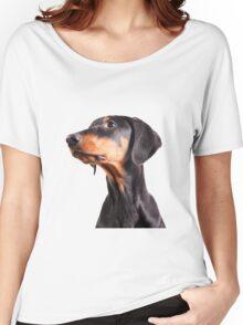 doberman pinscher Women's Relaxed Fit T-Shirt