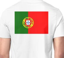 Portugal, Portuguese, Portuguese Flag, Flag of Portugal, Pure & Simple Unisex T-Shirt