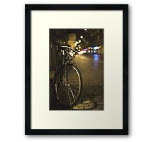 Swiss Bike Framed Print
