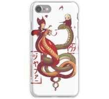Dancing snakes iPhone Case/Skin