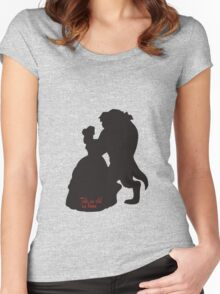 Tale as Old as Time Women's Fitted Scoop T-Shirt