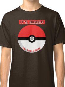 Pokemon - It's bigger on the inside.. Classic T-Shirt