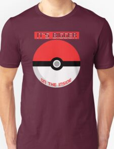 Pokemon - It's bigger on the inside.. T-Shirt