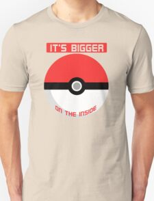 It's bigger on the inside.. T-Shirt