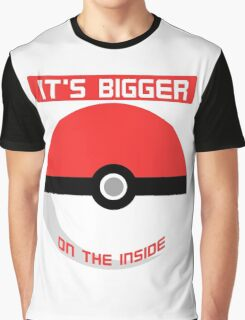 Pokemon - It's bigger on the inside.. Graphic T-Shirt