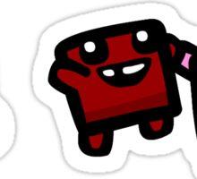 super meat boy Sticker