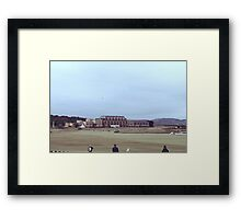 St Andrews Golf Course Framed Print