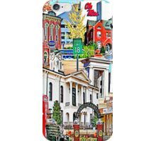 Oxford Vertical Collage iPhone Case/Skin