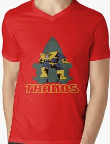 Thanos Mens V-Neck T-Shirt