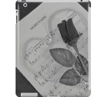 Serenade In Monochrome iPad Case/Skin