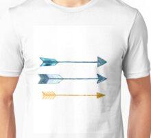 Arrow watercolor art print painting Unisex T-Shirt