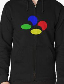 Super Nintendo SNES four colors quadcolor T-Shirt