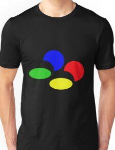Super Nintendo SNES four colors quadcolor Unisex T-Shirt