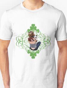 Pit Bull T-Bone Lucky Puppy T-Shirt