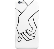 HOLDING HANDS 2 iPhone Case/Skin