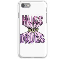 HUGS NOT DRUGS iPhone Case/Skin