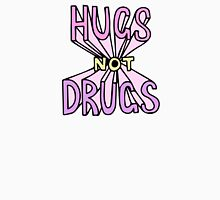 HUGS NOT DRUGS Womens Fitted T-Shirt