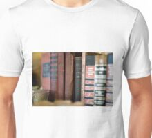 For the Love of Vintage Books Unisex T-Shirt