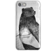 Teddy in the swimming pool iPhone Case/Skin