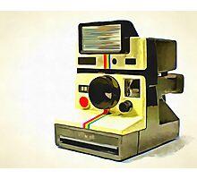 Old Polaroid Camera Photographic Print