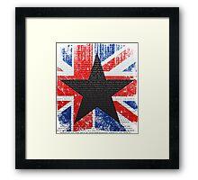 David Bowie Tribute Framed Print