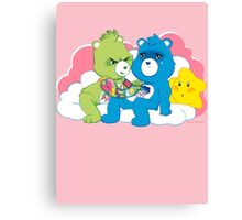 Care Bears Ink Canvas Print