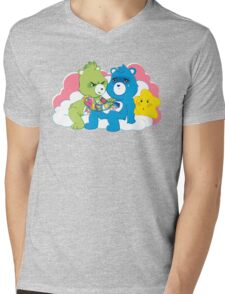 Care Bears Ink Mens V-Neck T-Shirt