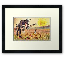 The Satanic Rituals  Framed Print