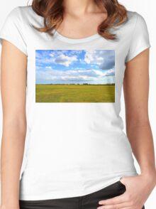 Empty Field Women's Fitted Scoop T-Shirt