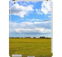 Empty Field iPad Case/Skin