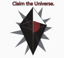 Claim The Universe Kids Tee