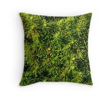 Greenery Throw Pillow