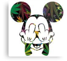 Mary Jane Mouse Metal Print