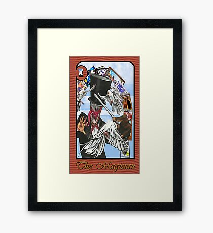 The Magician (tarot) Framed Print