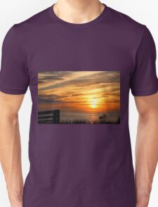 Sunset Over The Sea Unisex T-Shirt