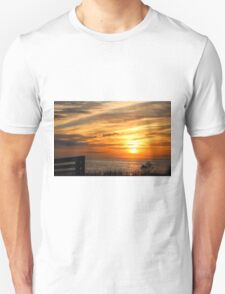 Sunset Over The Sea Unisex T-Shirt