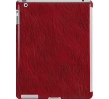 Red Fur iPad Case/Skin