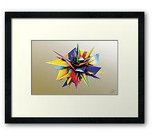 Shard Series 1 - Rainbow Framed Print